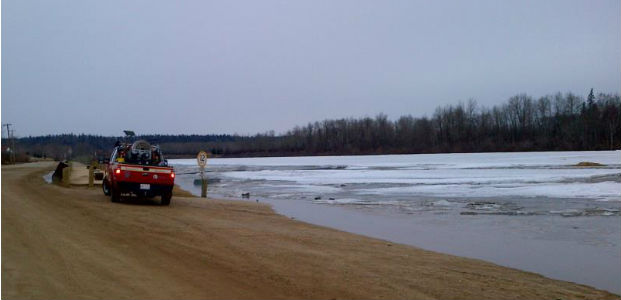 No threat of flooding with Athabasca river break-up