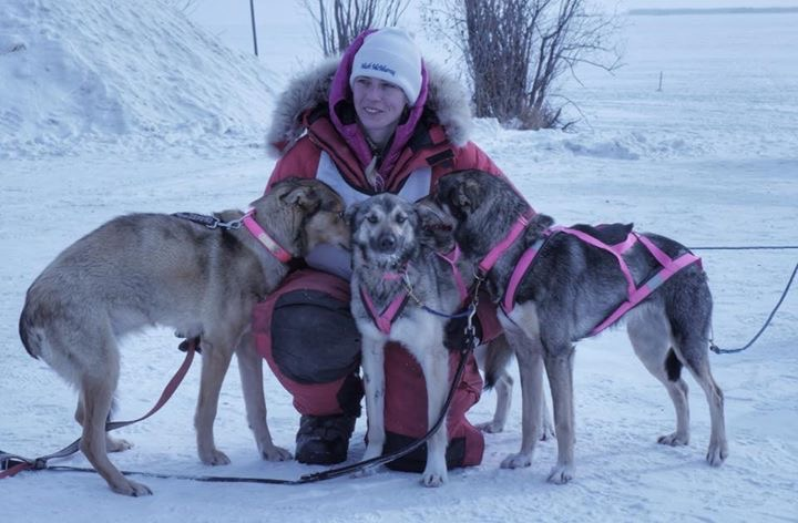 CHRISTINA TRAVERSE AND DOGS
