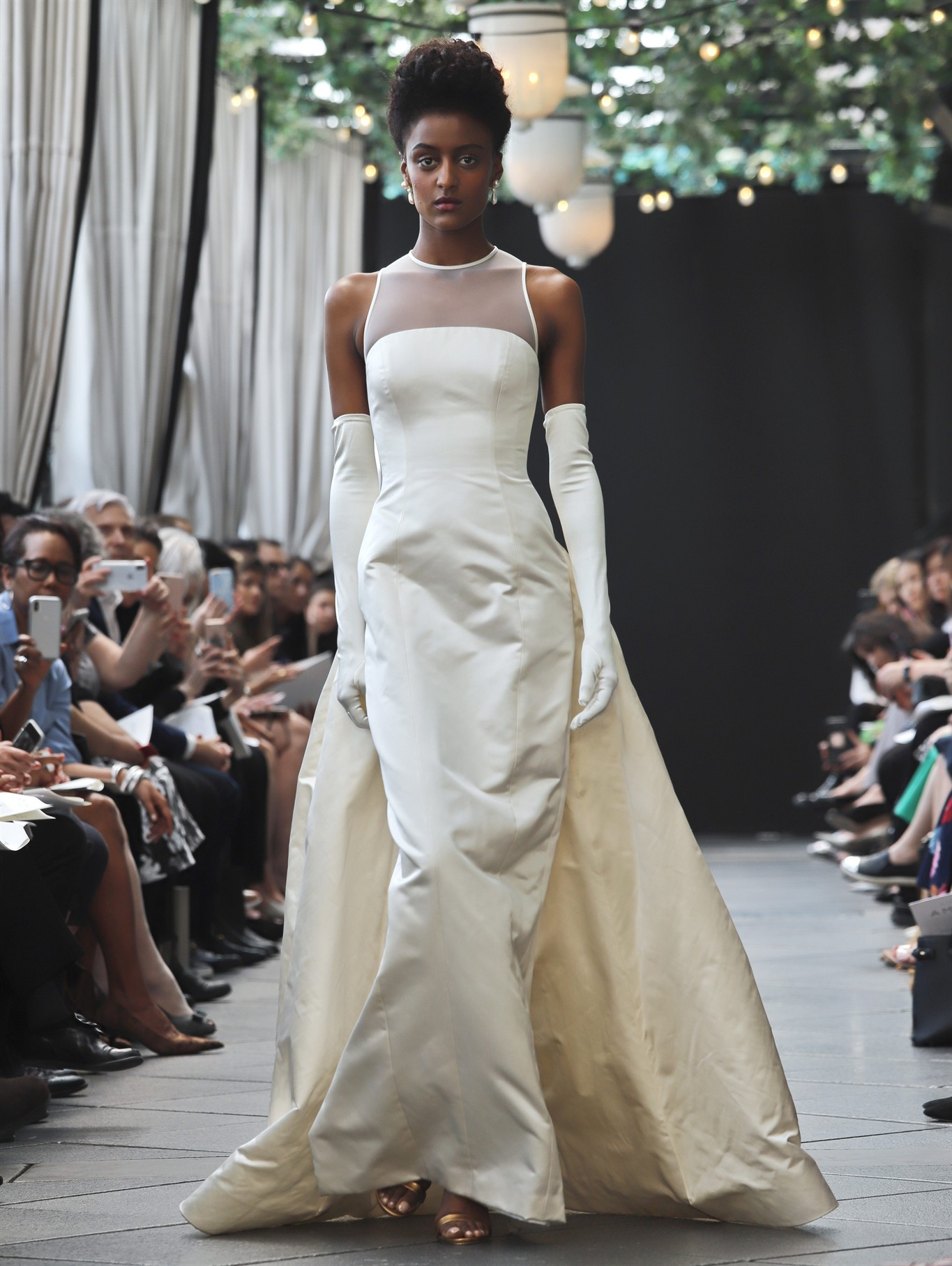 A sombre close to the bridal fashion career of Amsale Aberra ...