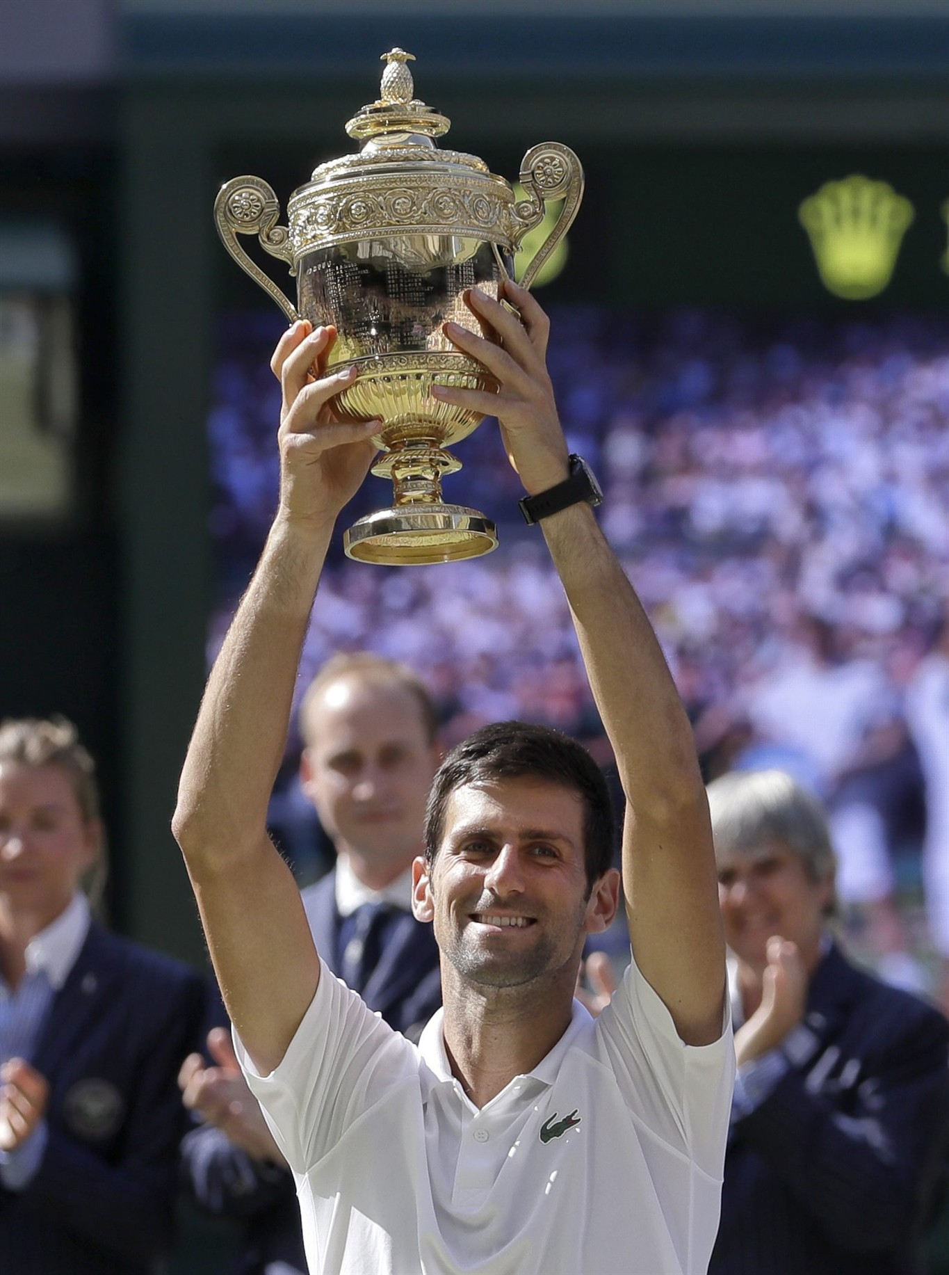f70a939afc92f No doubt: Djokovic wins 4th Wimbledon, 1st Slam in 2 years