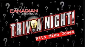 Trivia Tuesdays @ The Canadian Brewhouse